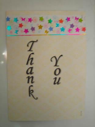 Farewell Card - Gratitude